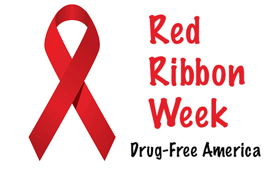 Red Ribbon Week- A Drug Free America